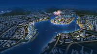 city planning 054 3d model