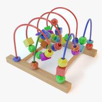 c4d bead roller coaster