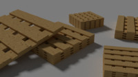 3d plywood pallets crates