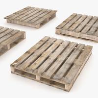 3dsmax 2 ways pallets -