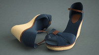 3dsmax shoe hilfiger