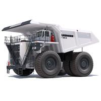 Dump Truck Liebherr T282B