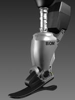 prosthetic leg max