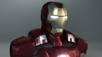 ironman armor 3d model