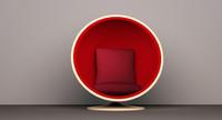 Egg style ball chair