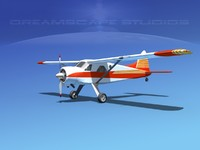 dehavilland beaver 3ds