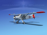 dehavilland beaver 1 3d model