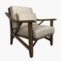 3d schnadig outdoor chair model