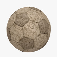 3d model football soccer ball