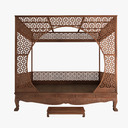 Canopy Bed 3D models