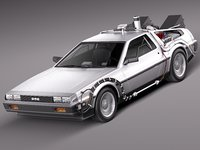 3d delorean future episode