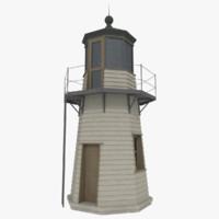 light house lighthouse obj