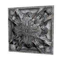3dsmax ornament panel