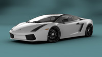 3d model of lamborghini gallardo