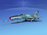 3d mig-21 fishbed jet fighter