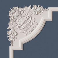 3d molding corner model