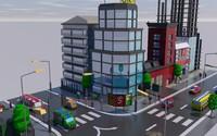 city 3d 3ds