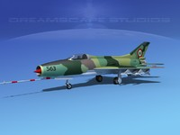 mig-21 fishbed jet fighter obj