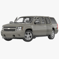 Chevrolet Suburban 2014 Rigged