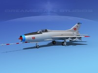 lightwave mig-21 fishbed jet fighter