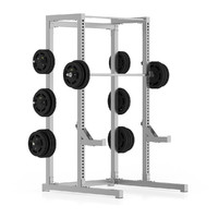 metal gym half rack max