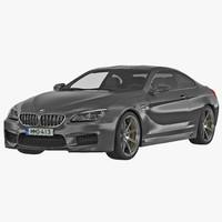 3d bmw 6 series 2016 model