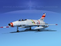 super sabre north american dwg