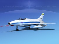 3ds max super sabre f-100