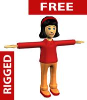 girl cartoon max free