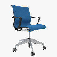 3d model herman miller setu chair