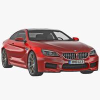 bmw 6 series 2016 3d model