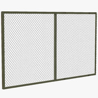maya chain link fence
