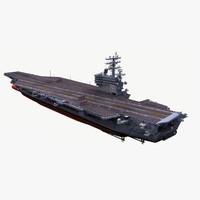 uss ronald 3d model