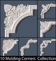 molding corner 3d model
