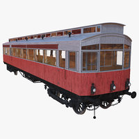 3ds max 1903 petrol electric autocar