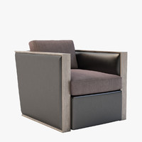 andrew chair 9500d 3d obj
