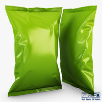food packaging v 2 3d obj