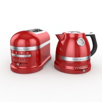 kitchen aid set 3d model