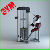 extension gym 3d model