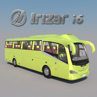 3d model bus irizar i6