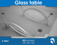 modern glass table ma