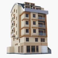 building exterior 3d max