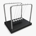Newton Cradle 3D models