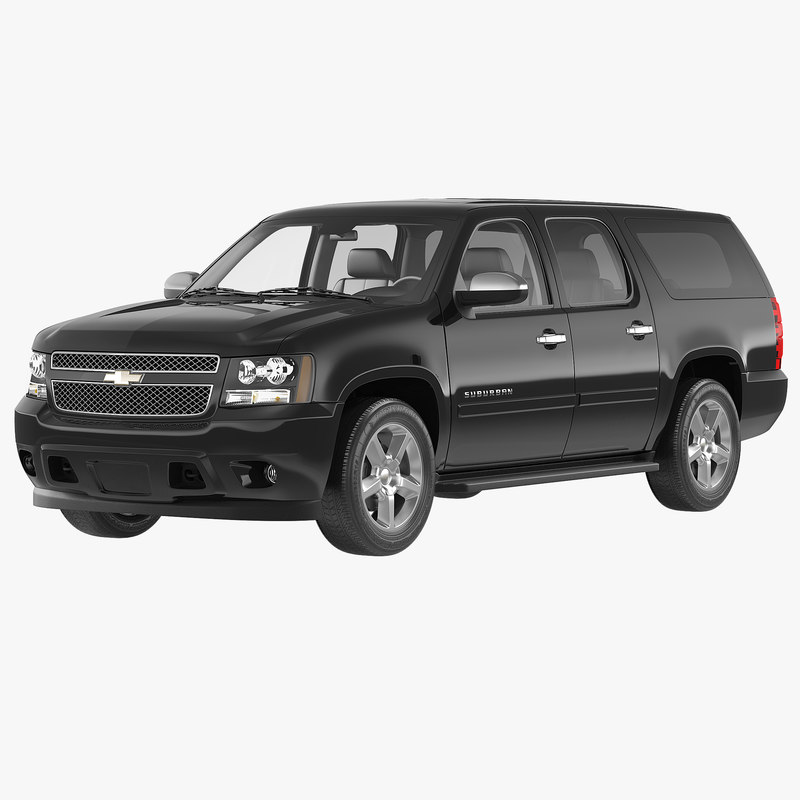 Chevrolet Suburban 2014 Simple Interior 3d model 00.jpg