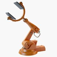 3d industrial robot arm