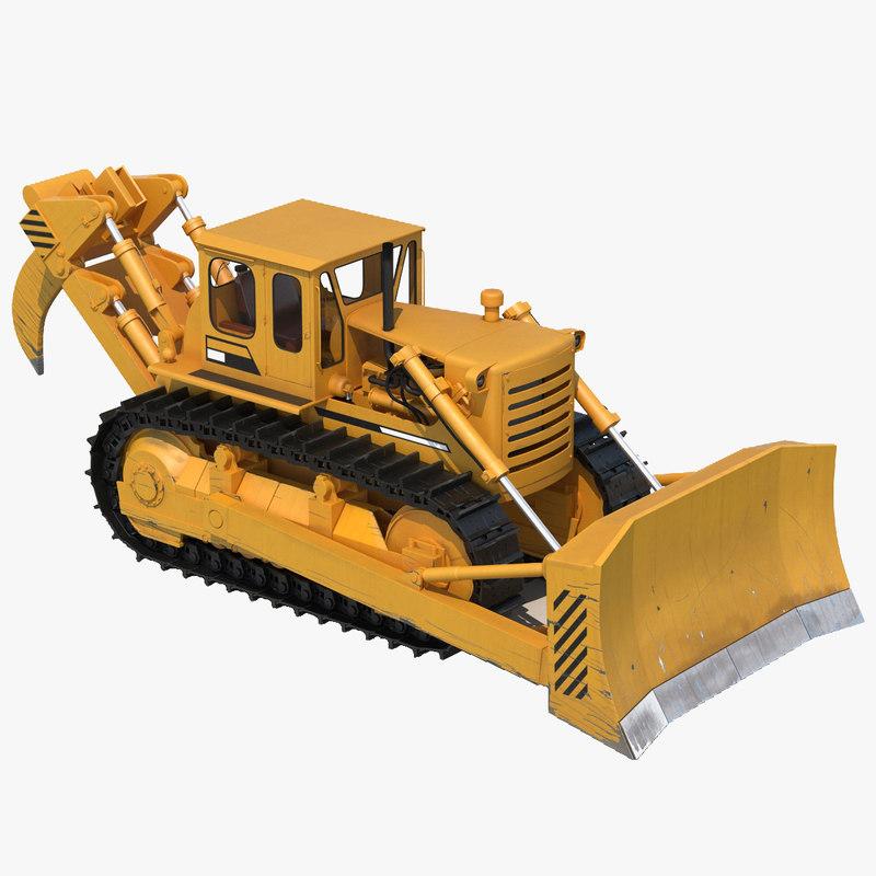 Bulldozer 3d model 00.jpg