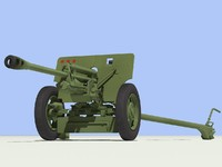 ZIS-3 gun.