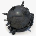 mine weapon 3D models