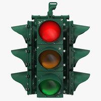 3d model stop light