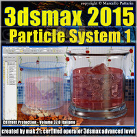 3ds max 2015 Particle System 1 volume 37 cd front